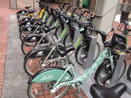 Boston Hubway Map by Find The Bikes The Hubway