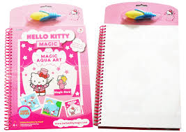 kids kitty painting drawing book water magic spray