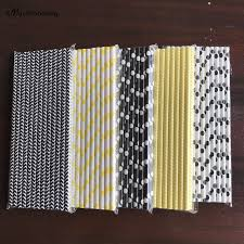 bumblebee party supplies bumble bee paper straws bumblebee baby shower decor black yellow