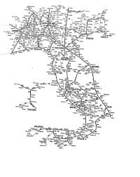Italy Map Cities Train Map Italy Greece Map