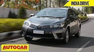 cost of toyota corolla in india toyota corolla altis price check november offers review pics