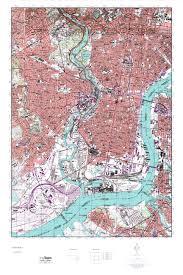 Washington State Topographic Map by Mytopo Philadelphia Pennsylvania Usgs Quad Topo Map