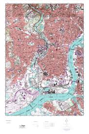 Philadelphia Pennsylvania Map by Mytopo Philadelphia Pennsylvania Usgs Quad Topo Map