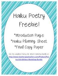 25 best haiku poems images on pinterest teaching writing poems