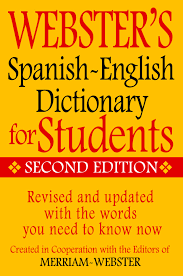 webster u0027s spanish english dictionary for students second edition