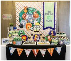 sports baby shower party ideas sports baby