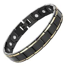 black magnetic bracelet stainless images Best magnetic therapy jewelry magnetrx bracelets necklaces rings jpg