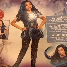 Mal Costume Disney Descendants 2 Mal Costume W Wig Mercari Buy U0026 Sell
