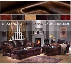 extra deep leather sofa lassiter sofa extra deep and std depth by american heritage leather