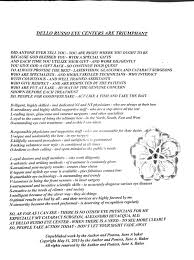Lasik Long Island Cataract Surgery Lasik Patient Thanks Dello Russo Laservision Staff With A Poem