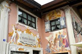 painted houses germany with kids the passion play and painted houses in