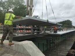 Cantilevered Deck by Composite Advantage Fiberspan Cantilever Sidewalks