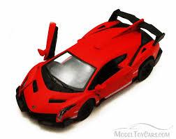 Lamborghini Veneno Yellow - lamborghini veneno red kinsmart 5370d 1 36 scale diecast