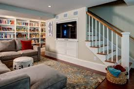 light filled basement traditional basement seattle by