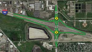 Chicago Tolls Map by Elmhurst Road Interchange Project At I 90 Illinois Tollway