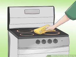 stove top how to clean an electric stove top 10 steps with pictures