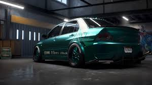 mitsubishi evo custom need for speed payback build of the week 4 u2013 mitsubishi lancer