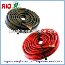 8 gauge 8 awg primary speaker wire or amp power ground cable for