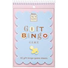amazon com baby shower game pad gift bingo card games