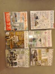 home and interior magazines bundle of 20 incl country living
