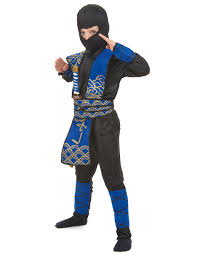 ninja costume for halloween blue ninja costume for boys