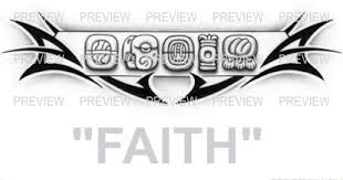 faith mayan glyphs design a aztec tattoos aztec mayan