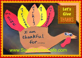 susieqtpies cafe turkey thanksgiving activities for