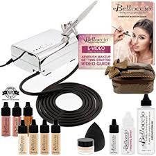 professional airbrush makeup system belloccio professional beauty airbrush cosmetic makeup