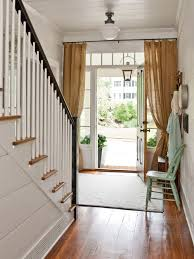 Front Door Curtains Entry Door Curtains Decorating With Front Door Curtain