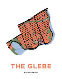 the glebe neighbourhood map print u2013 jelly brothers
