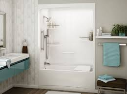 shower one piece tub and shower unit temul cost to replace tub
