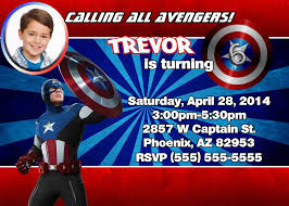captain america birthday invitations templates egreeting ecards