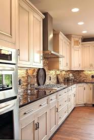 pictures of kitchens with dark wood floors and white cabinets
