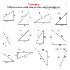 trigonometry worksheets soh cah toa trigonometry sin cos and