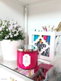 Pink Craft Room - craft room and home office tour tauni co
