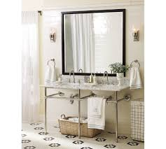 beautiful farmhouse bathroom vanity sink combo using semi recessed