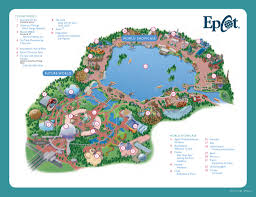 Disney World Epcot Map Home Believe Vacations Dream It Do It