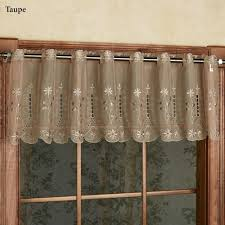samantha embroidered sheer tier window treatments