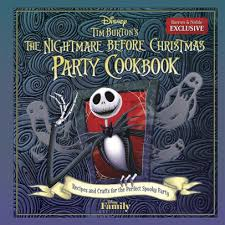 tim burton s the nightmare before cookbook