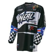 jersey motocross o neal element afterburner jersey motocross jerseys oneal gloves