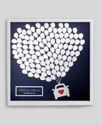 modern wedding guest book wedding guest book alternative modern 3d hearts by californiarts