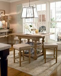 Paula Deen Dining Room Table by Paula Deen Down Home Rectangular Square Counter Height Pedestal