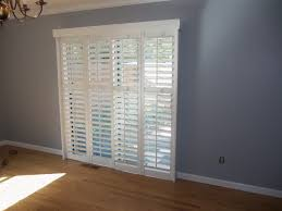 best type of window treatments for sliding glass doors home window