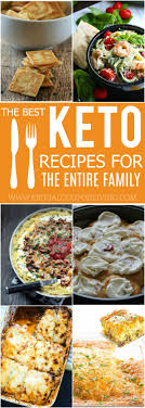 Tasty Mouthwatering Keto Recipes for the Entire Family