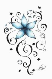 Flowers On Vines Tattoo Designs - 33 best dolphin and flower vine tattoo images on pinterest