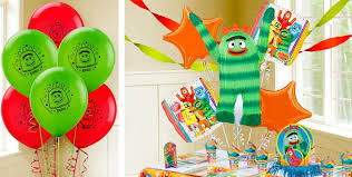 yo gabba gabba balloons party