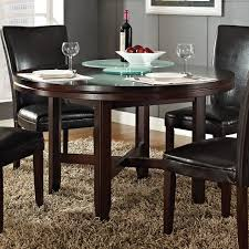Dark Dining Table by Steve Silver Hf7272t Hartford 72 Dining Table In Burnished Dark