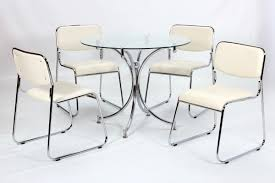 Small Glass Dining Table And 4 Chairs This Year U0027s 486120914908 Round Glass Dining Table Set For 4 With