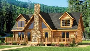 one story log cabin floor plans kitchen log house plans with loft one floor home wrap around