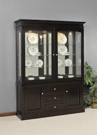 Dining Room Hutch Buffet Sideboards Astonishing Dining Room Buffet With Glass Doors